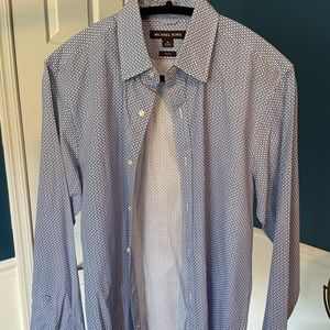 Michael Kors shirt, M, Slim Fit, nice pattern